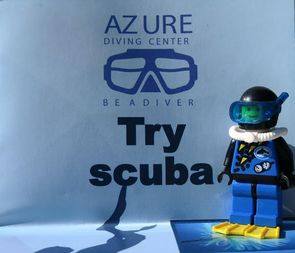 Azure Diving Center kids lego